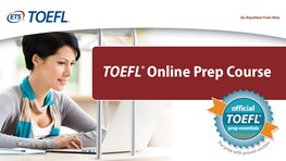 Special price on TOEFL iBT Online Prep Course (TOPC) - 4 Skills for ISIC cardholders